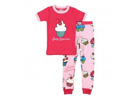 Dětské Pyžamo Muffin - Sladké sny - Holčičí
