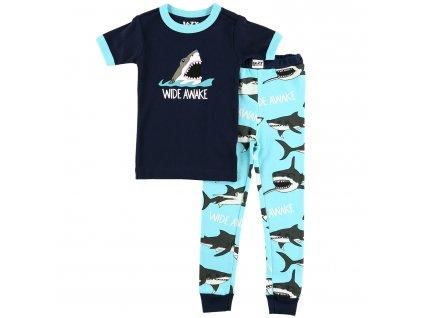 Dětské Pyžamo Žralok - Divoké probuzení - Klučičí