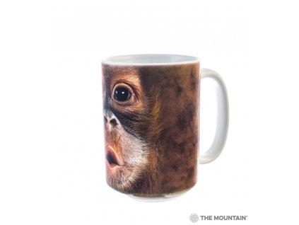 Hrnek Dítě Orangutan