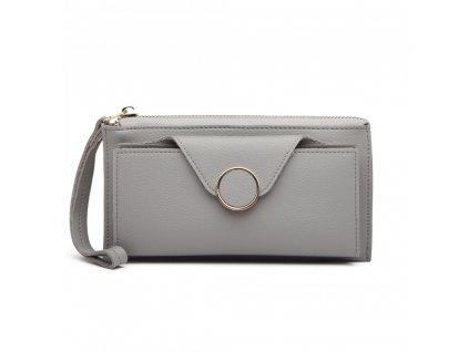 Dámská peněženka Dolly - šedá