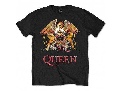 Tričko Queen Černo Barevné