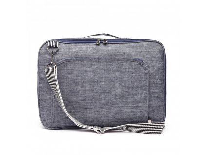 Multifunkční pánská cestovní taška/batoh Oxford - modrá