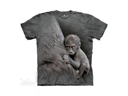 Tričko Gorila s mládětem