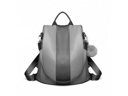 Dámský elegantní batoh Limba - šedý