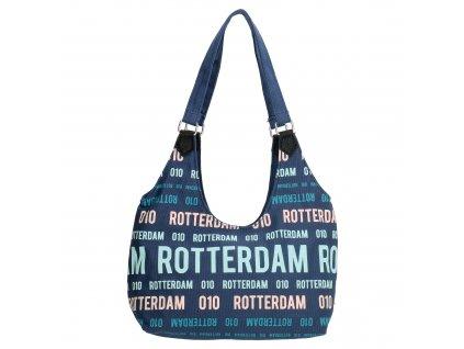 Taška na rameno PE-FLORENCE - Rotterdam - modrá