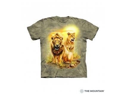 Tričko Lev s lvicí - Dětské