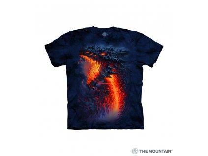 Tričko Ohnivý drak - Dětské