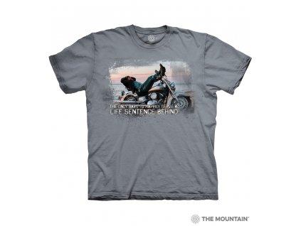 Tričko Motorkářem na celý život