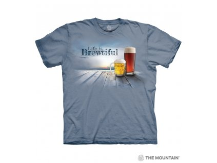 Tričko Život je brewtiful