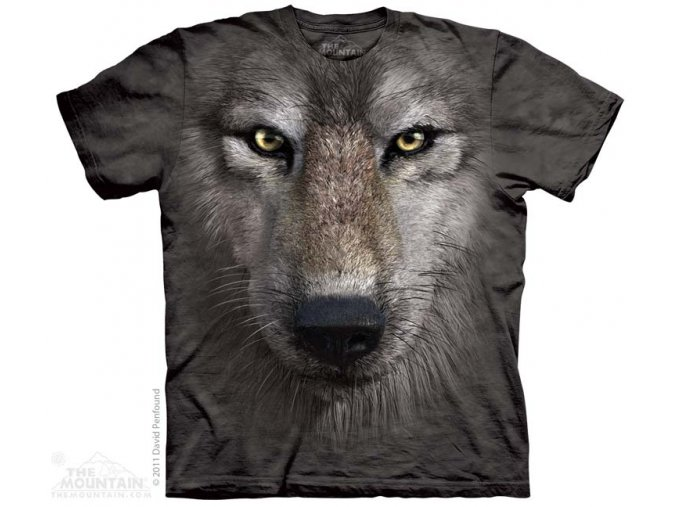 Tričko Vlk - Dětské