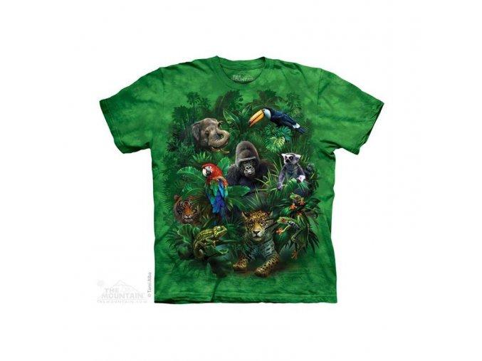 Tričko Zvířata - Dětské - 2017