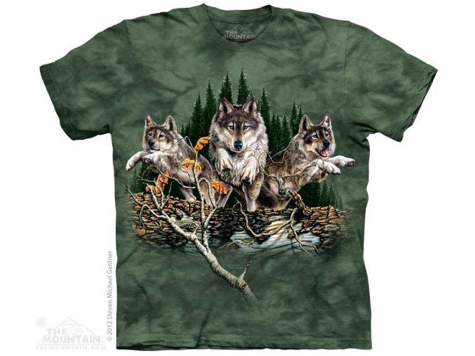 Tričko Vlci - Dětské
