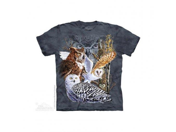 Tričko Sovy - Dětské