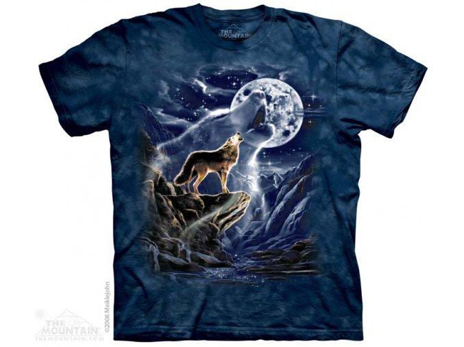 Tričko Wolf Spirit Moon