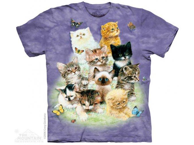 Tričko s koťátkama - 10 Cittens