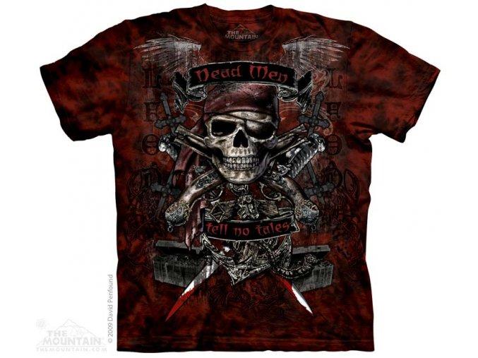 Tričko Mrtvý pirát