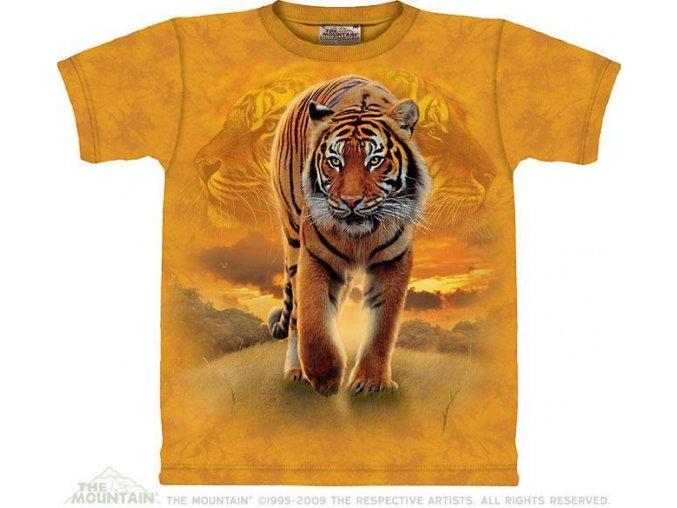 Tričko Tygr vycházejícího slunce - Dětské