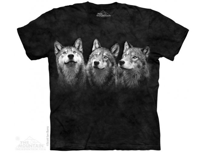 Tričko Tři Vlci