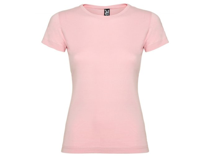 Dámské Tričko Světle růžová
