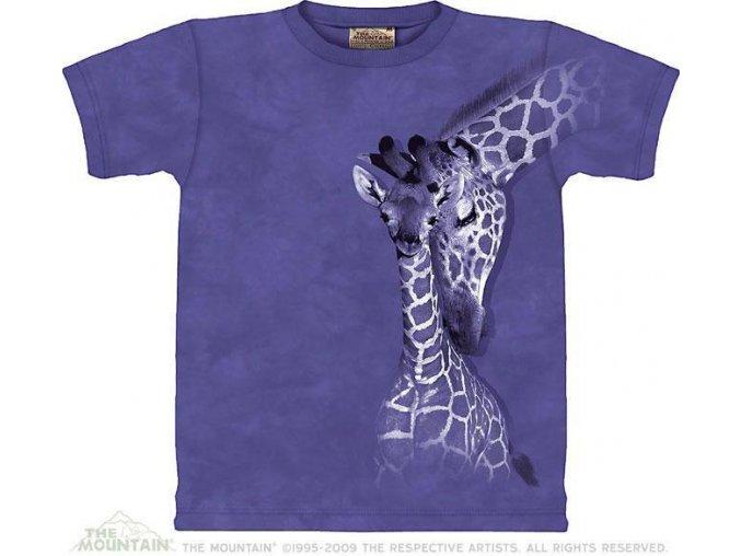 Tričko Žirafí rodinka - Dětské