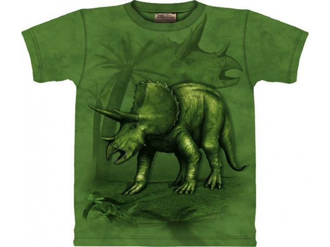 Tričko Triceratops - Dětské - 2017