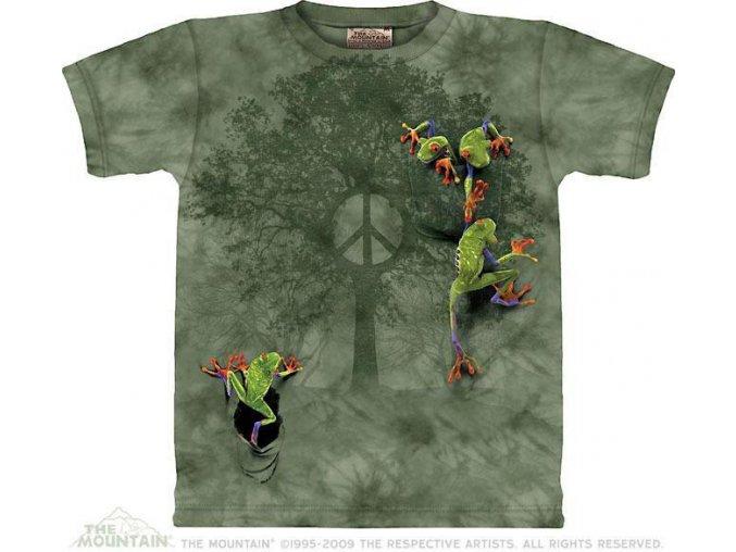 Tričko Žabky na mírovém stromě