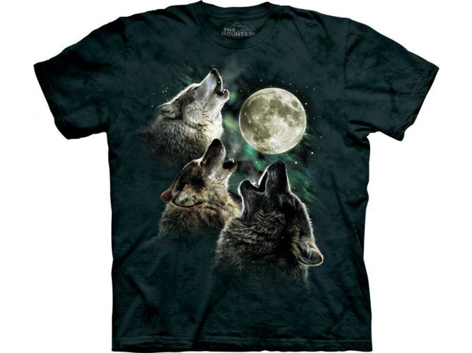 Tričko Three Wolf Moon