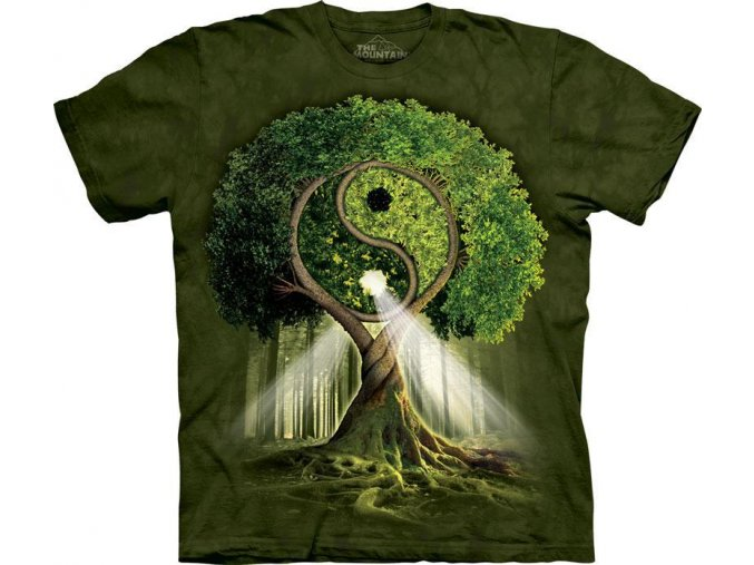 Tričko Yin-Yang Tree - 2017