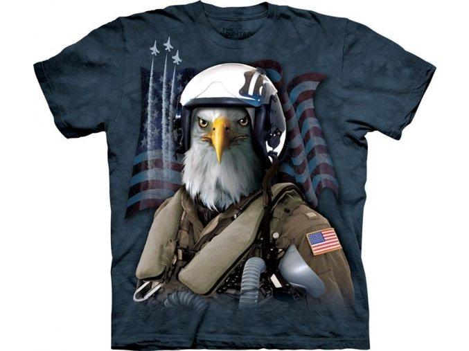 Tričko Combat Stryker - Orel stíhacím pilotem