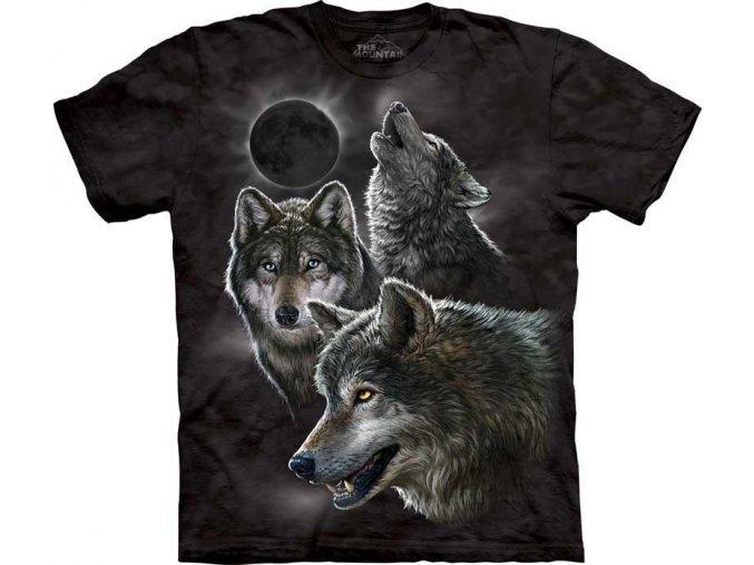 Tričko Vlčí úplněk