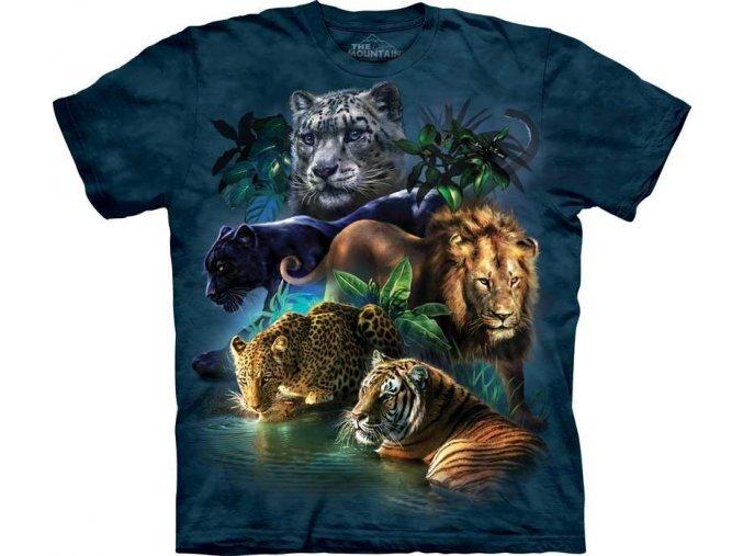 Tričko Kočičí džungle