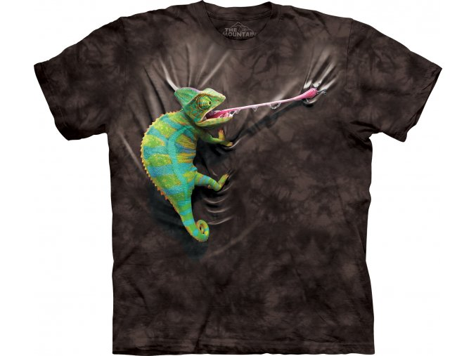Tričko Chameleon BLACK - Limitovaná Edice