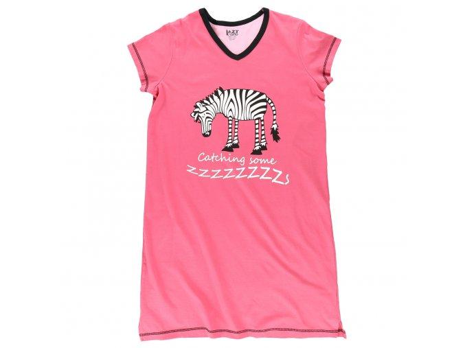 Dámská Noční Košile Zebra