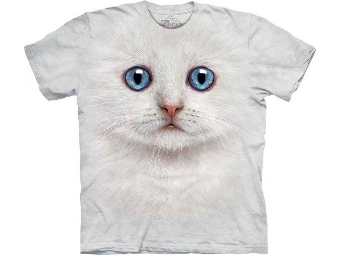 Tričko Tvář Slonovinová Kočka - 2017