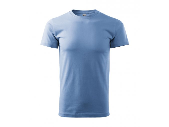 Pánské Tričko Nebesky Modré