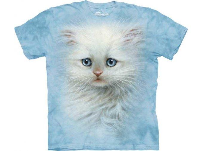 Tričko Tvář Bílého Koťátka - Dětské