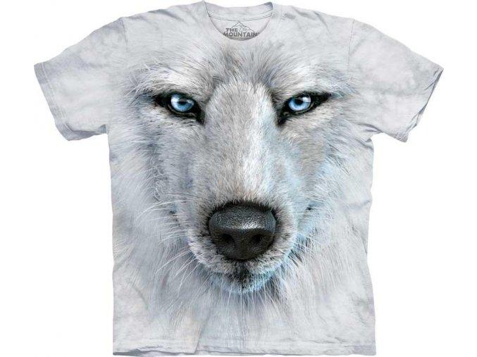 Tričko Tvář Bílého Vlka - 2017