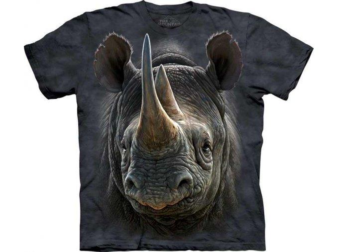 Tričko Černý Nosorožec - Dětské