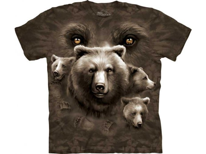 Tričko Medvědí oči