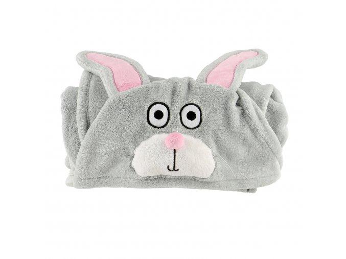 Dětská fleecová deka - Zajíček