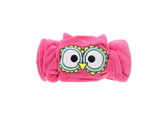 Dětská fleecová deka - Sova