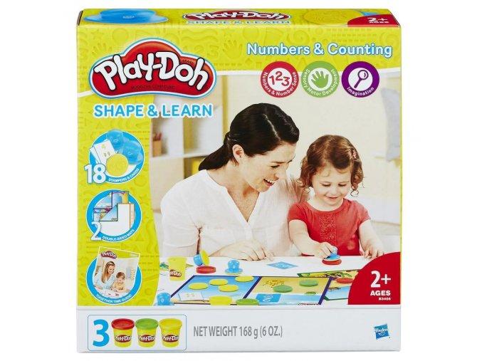 Čísla a Počítání Play Doh