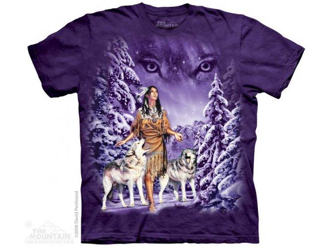 Tričko Indiánka a vlci