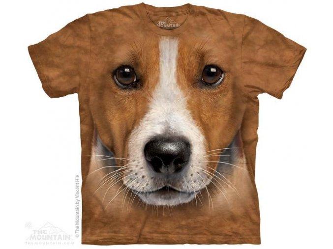 Tričko s potiskem štěnátka jacka russella
