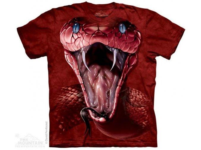 Tričko s potiskem červená mamba