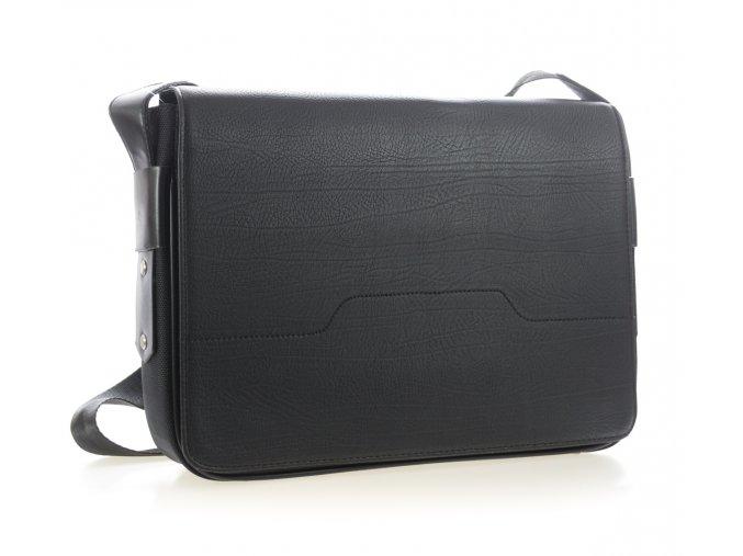 Elegantní pánská taška - černá - velká