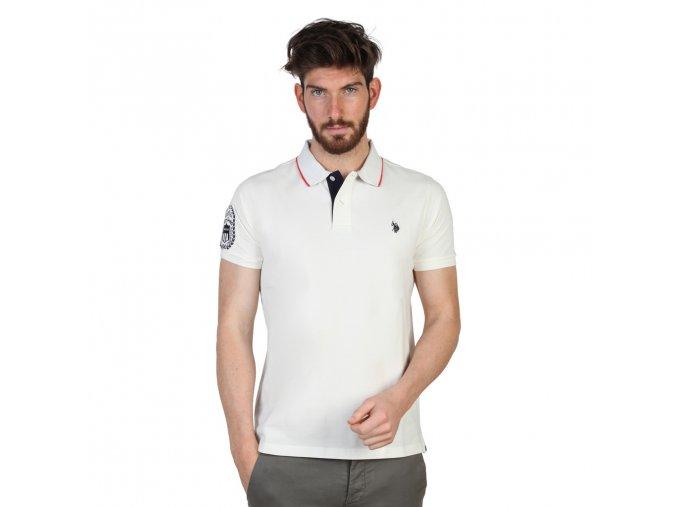polo tričko us polo bílé