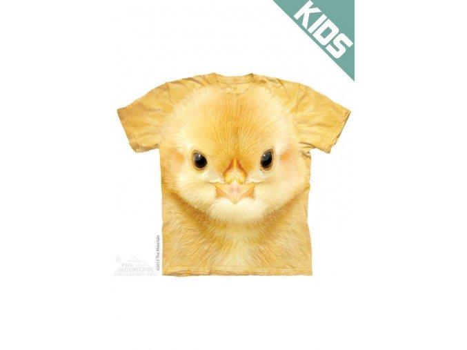 Tričko s potiskem kuřete - Dětské - 2017