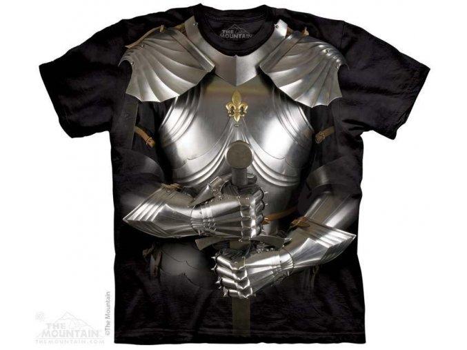 Tričko s potiskem rytíř brnění