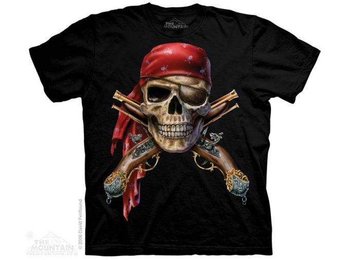 Tričko lebky a muškety - Skull & Muskets